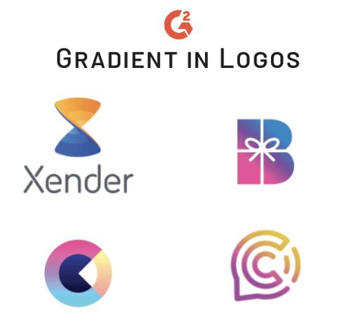 gradient trend in logos
