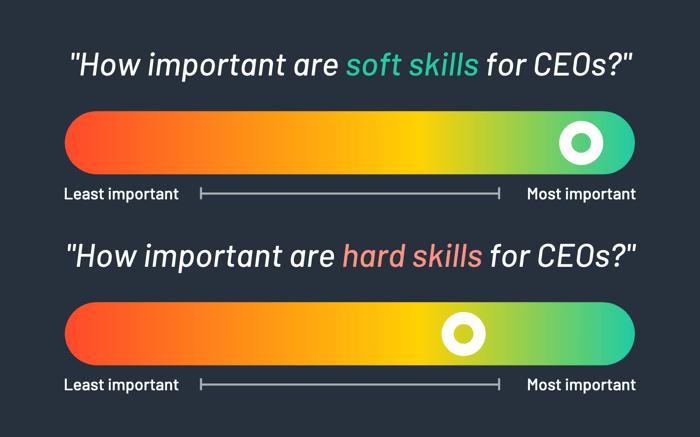 Hard skills vs soft skills for CEOs