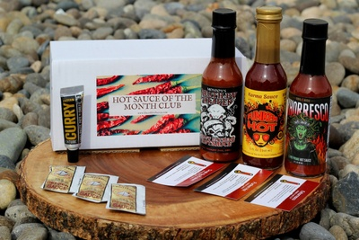 hot sauce of the month club monthly subscription box