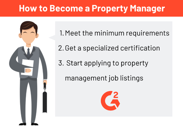 how to become a property manager in 3 steps