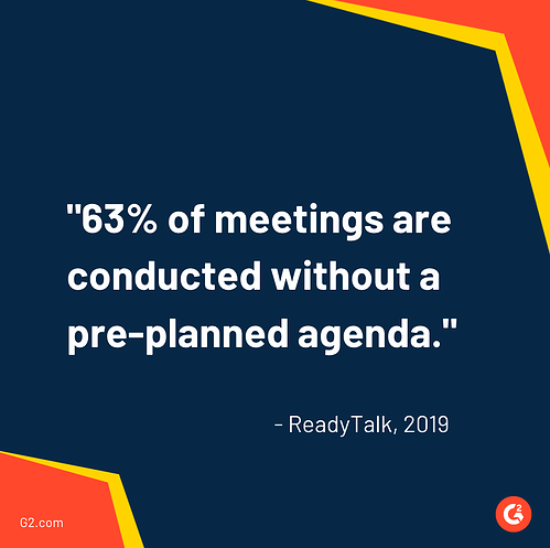 company meeting stats