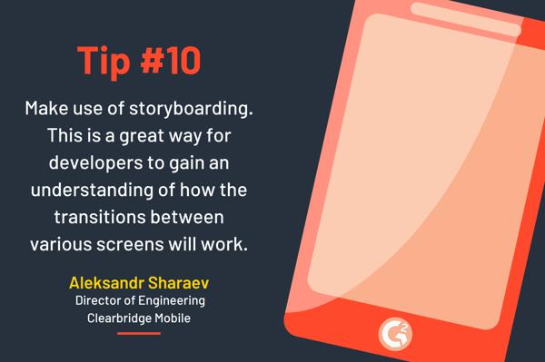 iOS app development tip 10