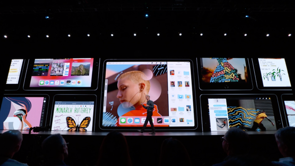 iPadOS introduction at WWDC19