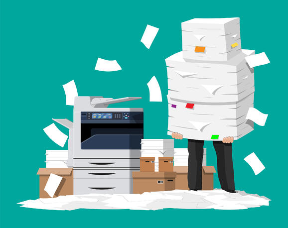 How to Create a Paperless Office With Business Process Management