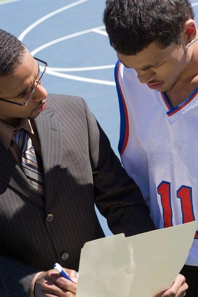 athletic recruiter sample