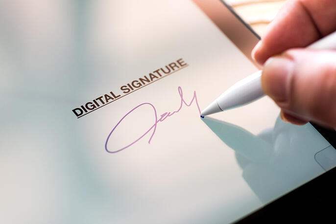 How to Insert Signature in Word as Assigner and Assignee