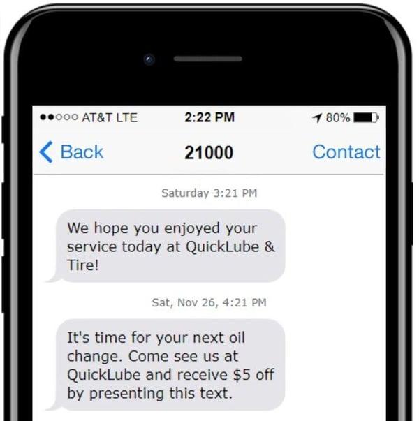 reminder SMS