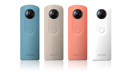 facebook 360 photo ricoh theta s camera