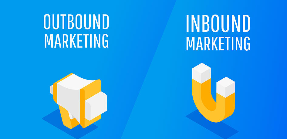 Inbound vs Outbound Marketing (Explained Simply)