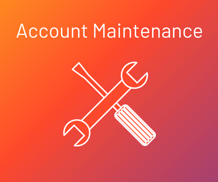 instagram account maintenance