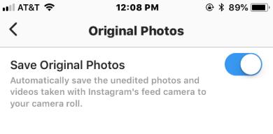 instagram original photo