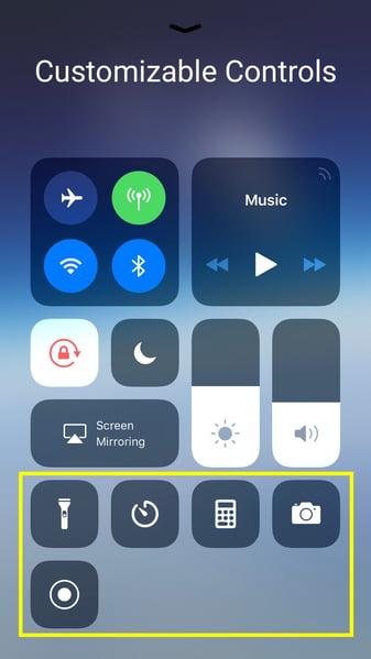 iphone-control-center-customized