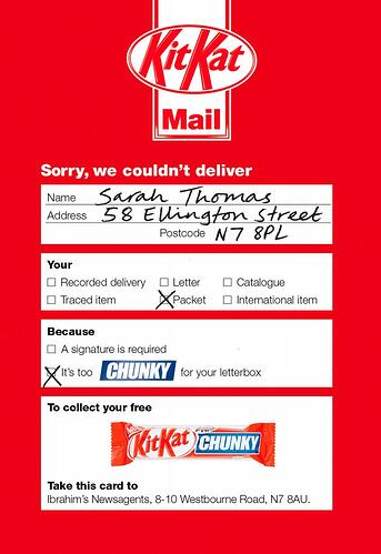 kit kat chunky campaign