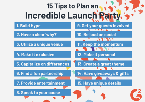 Launch Party Tips