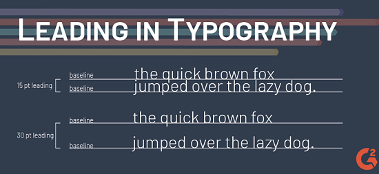 leading in typography