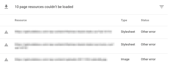 page-load-status