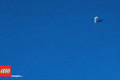 minimal ad design