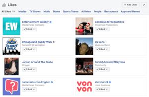 hoe meerdere facebookpagina's te unliken ziet u al uw facebook likes