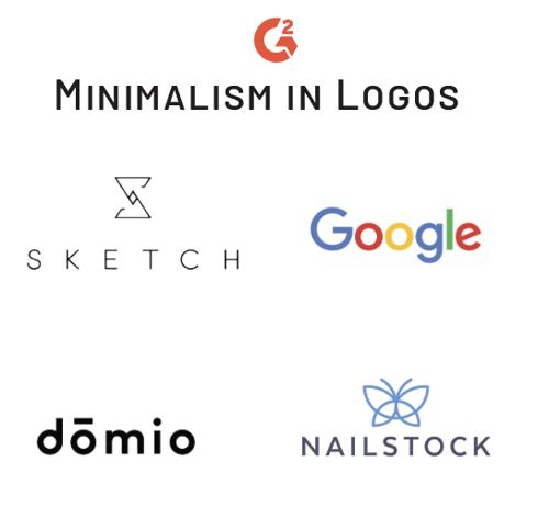 minimalism trend in logos