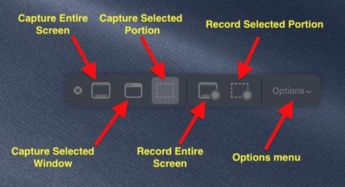 print screen mac menu