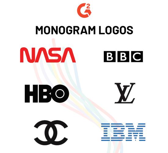 monogram logo examples