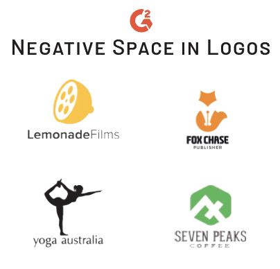 negative space trend in logos