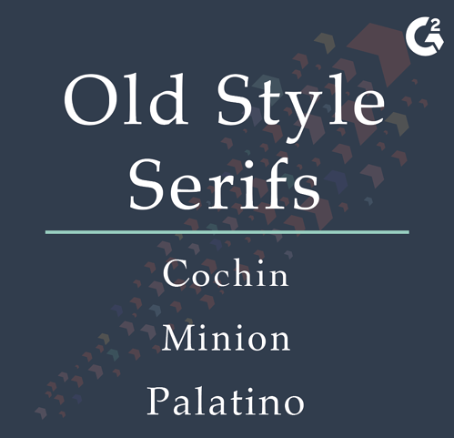 old style serif examples