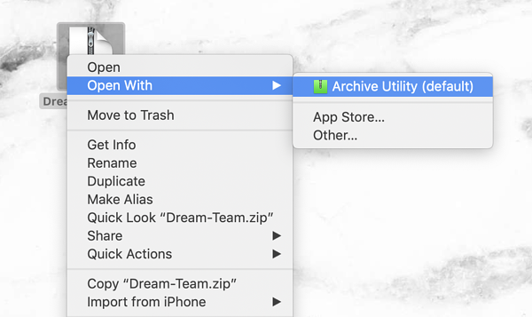 How to Zip a File on Mac in Two Steps