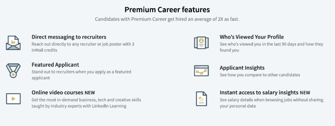 premium career perks list