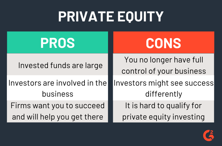 private equity pros and cons