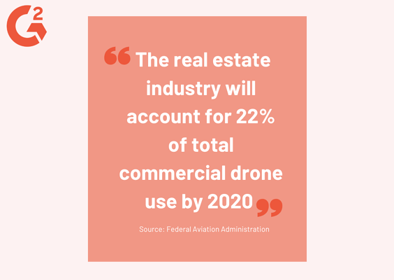 real estate drone statistic