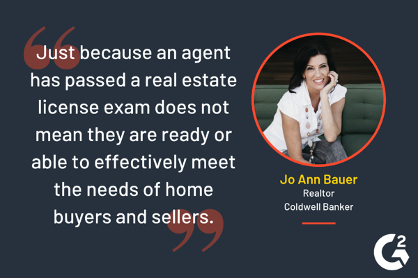 tip for real estate agents from Jo Ann Bauer