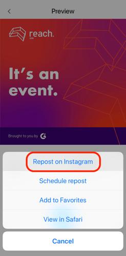 repost instagram photo from regrammer