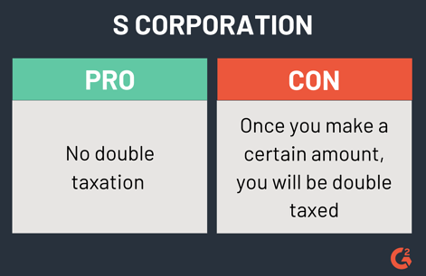 pros and cons of an s corporation
