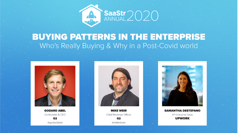 Purchasing Patterns in the Enterprise: Who's Buying in a Post-COVID World – and Why?