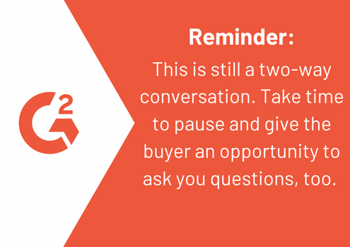 tips for running a sales discovery call