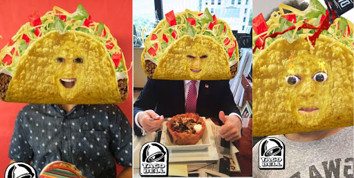 taco bell snapchat geofilters