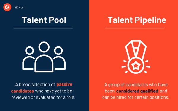 talent pool vs. talent pipeline