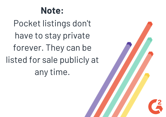 note about pocket listings