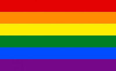 traditional gay pride flag