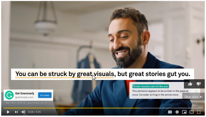 trueview ad on youtube