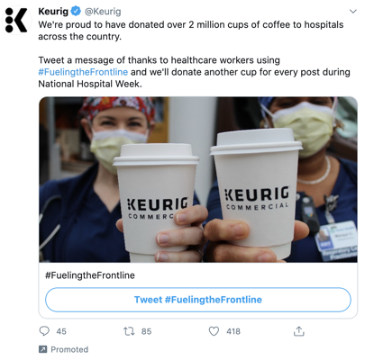 twitter hashtag campaign example