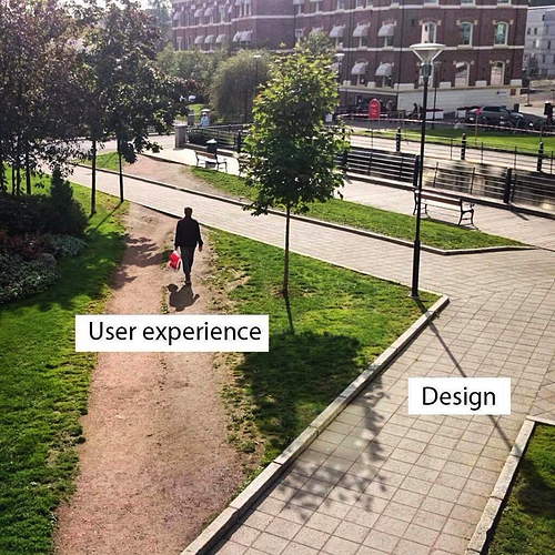 User experience vs app design