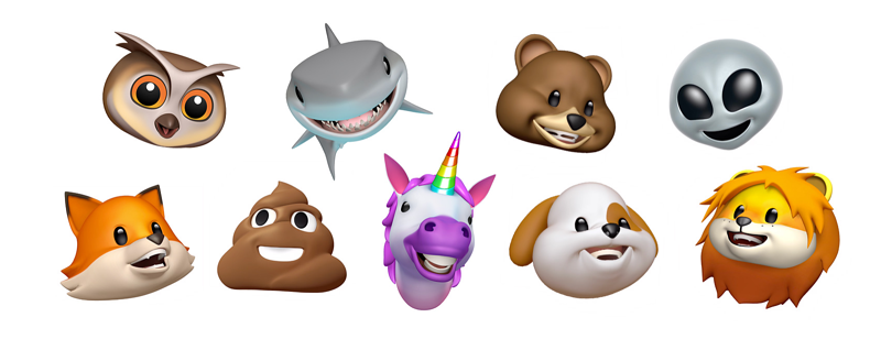 list of animojis