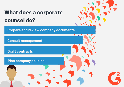 what does a corporate counsel do