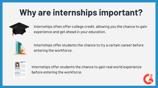 Why do I need an internship?