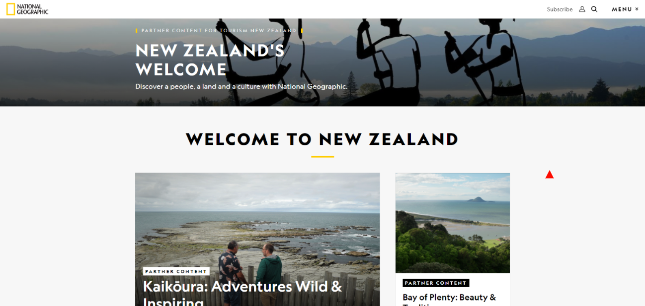 welcome to new zeland