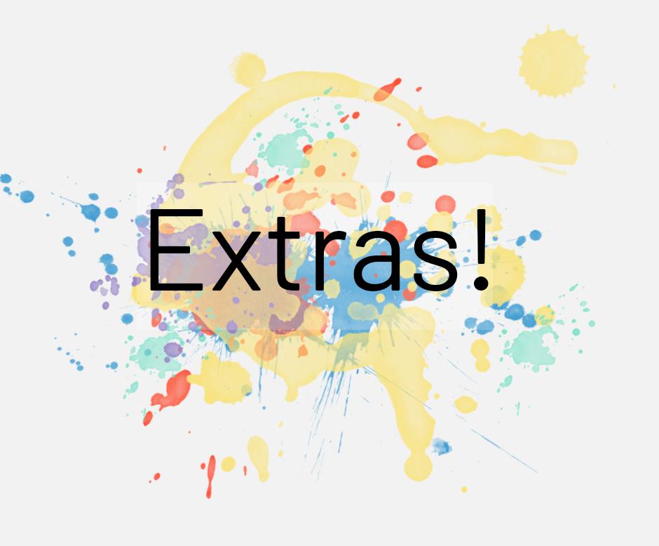 graphic design extras