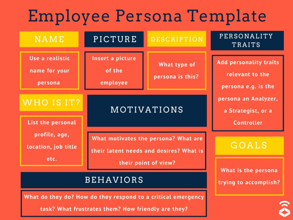 employee persona