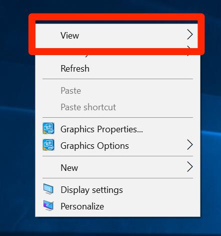Right-Click in Windows 10